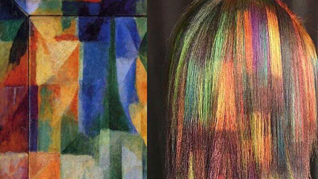 Obras de arte... ¡en el pelo!