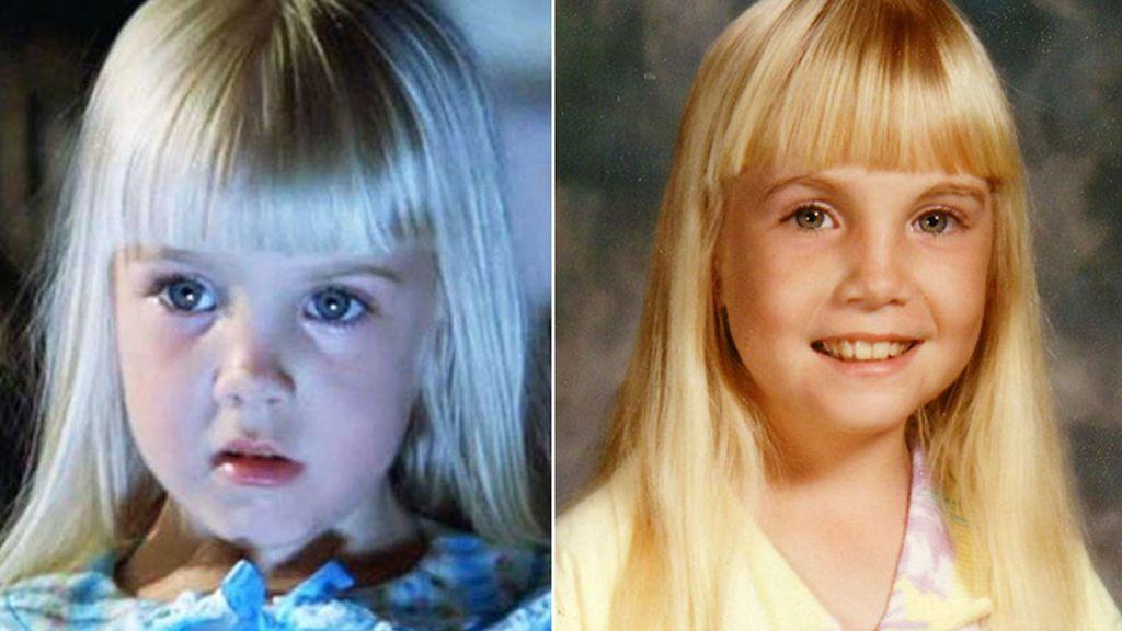 Heather O'Rourke, la niña de 'Poltergeist', murió en 1988 a los 12 años