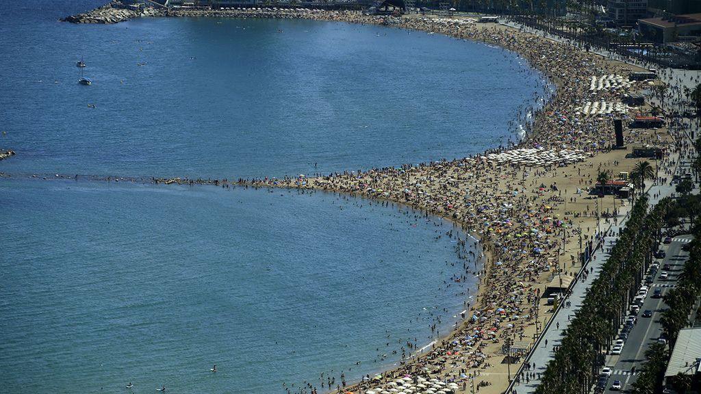 ¿Cómo estaba la playa? Abarrotada de gente