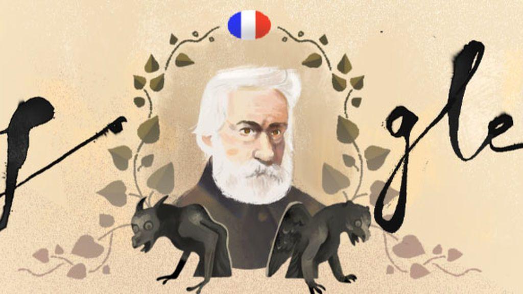 Google rinde homenaje a Los Miserables y Victor Hugo