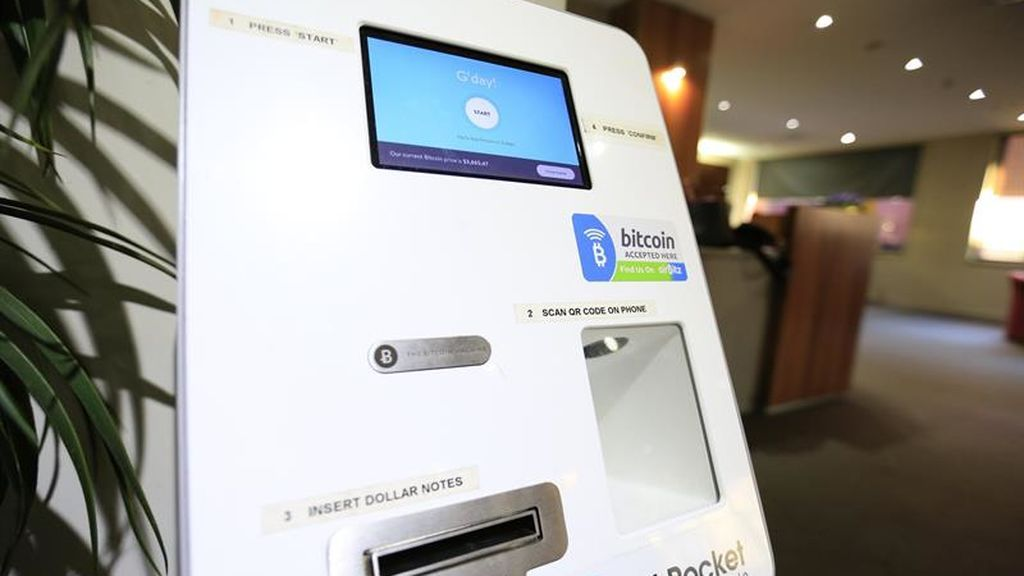 Cajero de Bitcoin en Tasmania