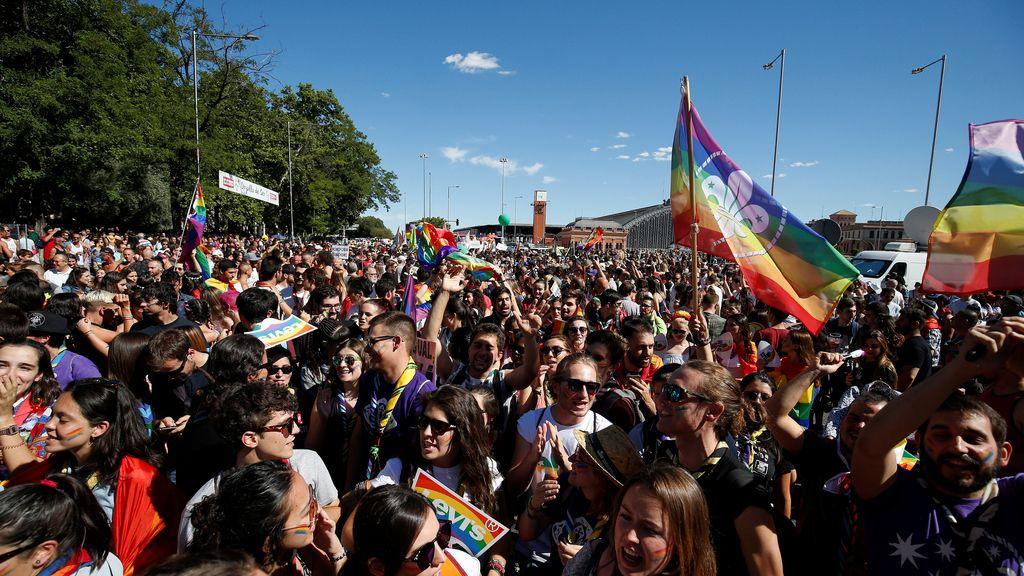 Marcha mundial del Orgullo Gay en Madrid