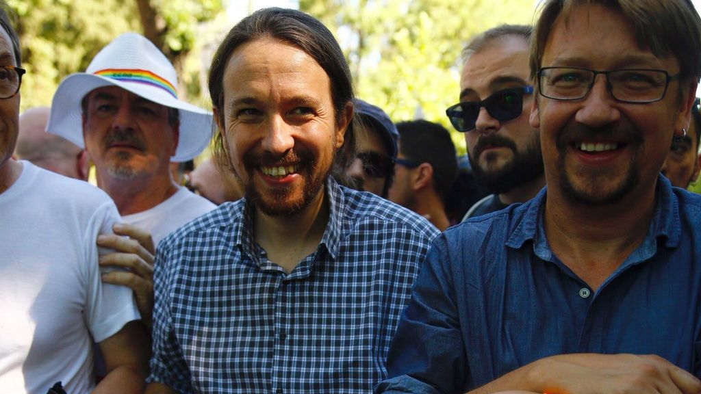 Pablo Iglesias en el Orgullo Gay de Madrid
