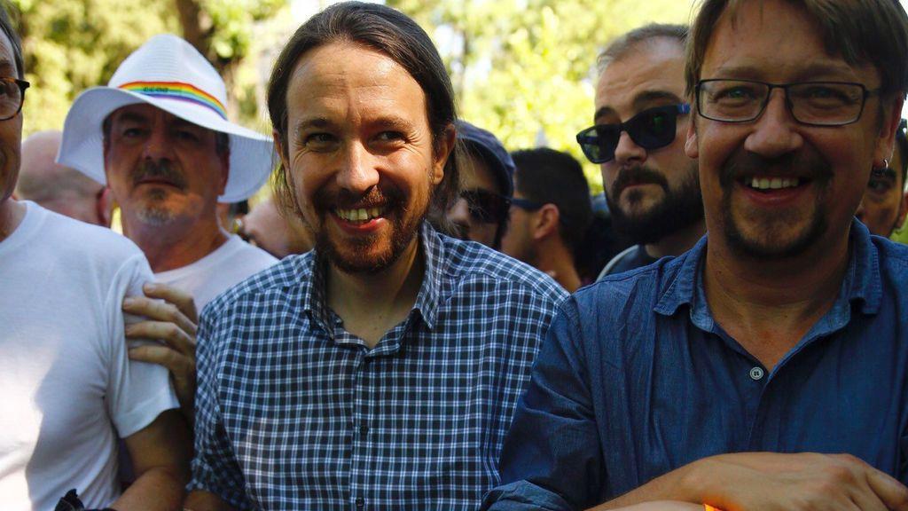 Pablo Iglesias, en el Orgullo Gay de Madrid