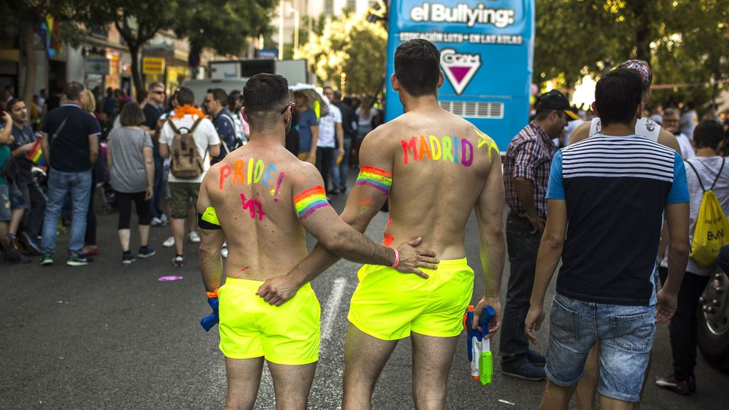 Marcha mundial del Orgullo Gay en Madrid