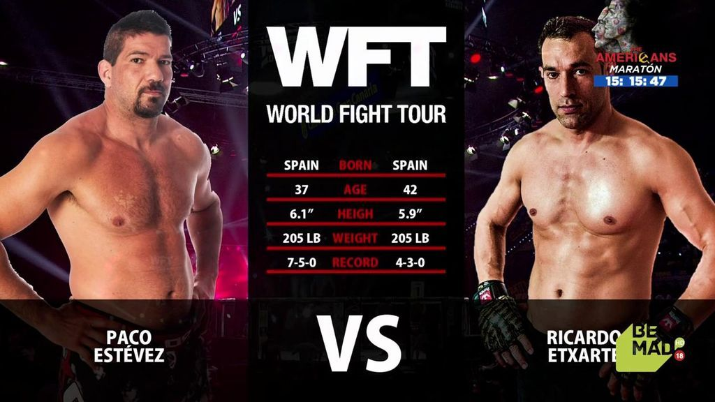 El combate Paco Estévez vs Ricardo Extarte íntegro