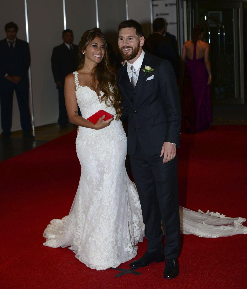 Messi y Antonella se han casado en Rosario (Argentina), lugar donde se conocieron de niños