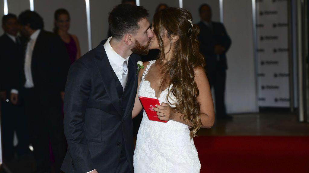 Las redes muestran lo no visto de la boda de Messi y Antonella