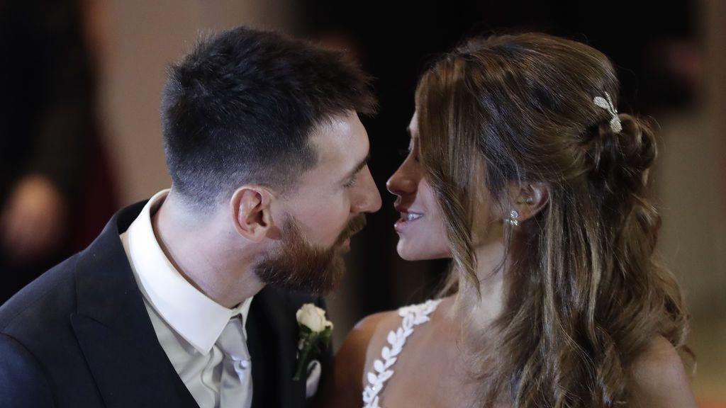 Antonella Roccuzzo comparte las imágenes más íntimas de su boda con Messi
