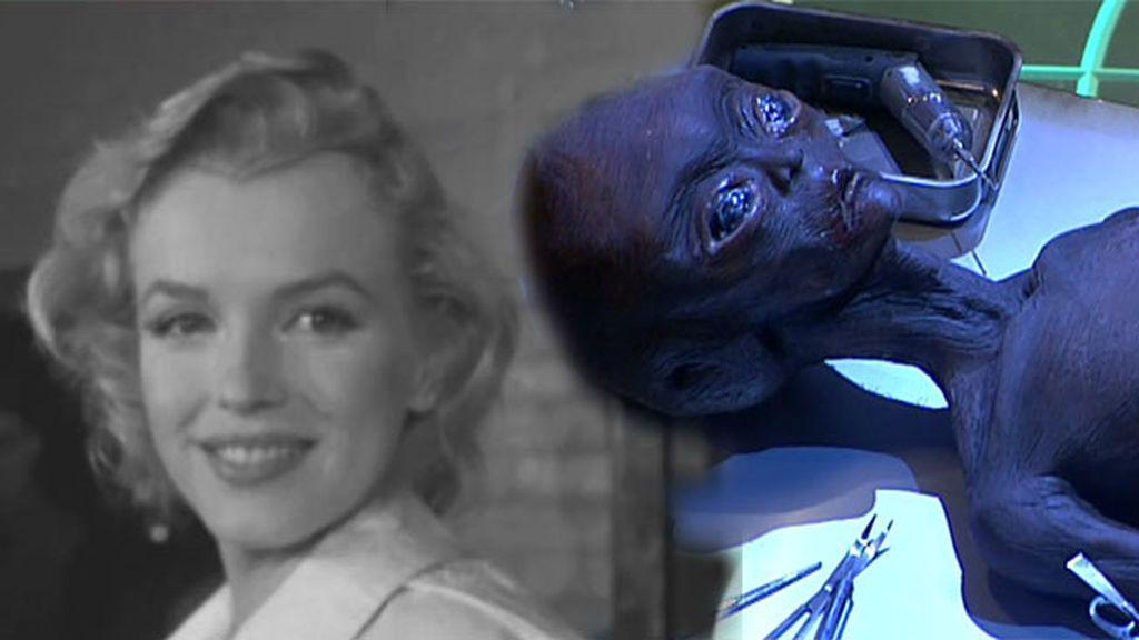 ¿Qué relación tiene el caso Roswell con la muerte de Marilyn Monroe? Desvelamos nuevos e inquietantes datos