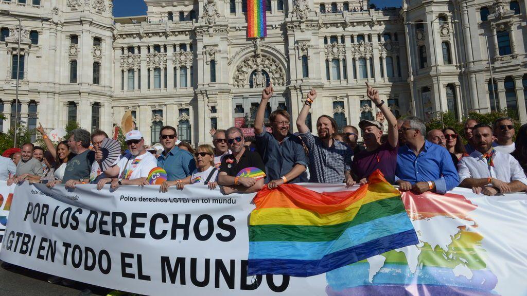 Madrid WorldPride 2017, famosos y políticos salen a la calle