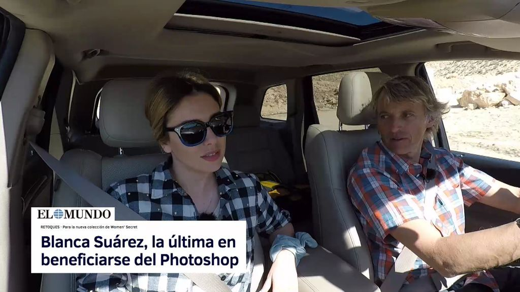 Blanca Suárez aclara el polémico Photoshop de una campaña publicitaria