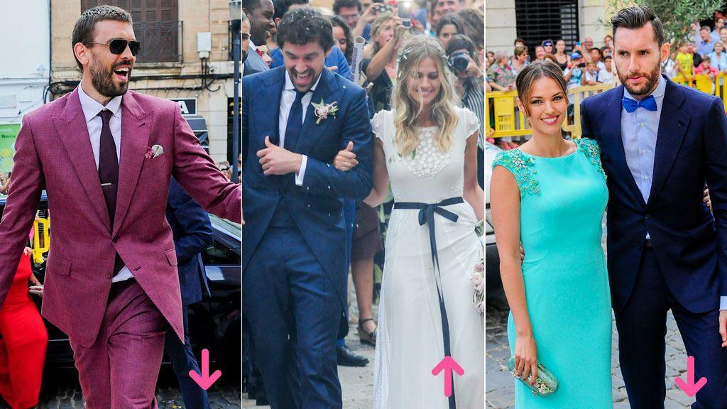 Aciertos y errores en la boda de Sergio Llul y Almudena Cánovas