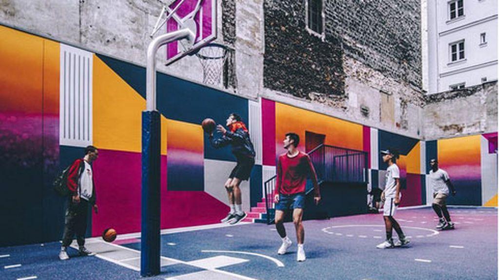 La cancha de baloncesto 'callejera' más espectacular del mundo