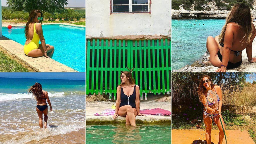 Anabel Pantoja presume en Instagram de su moda baño 2017