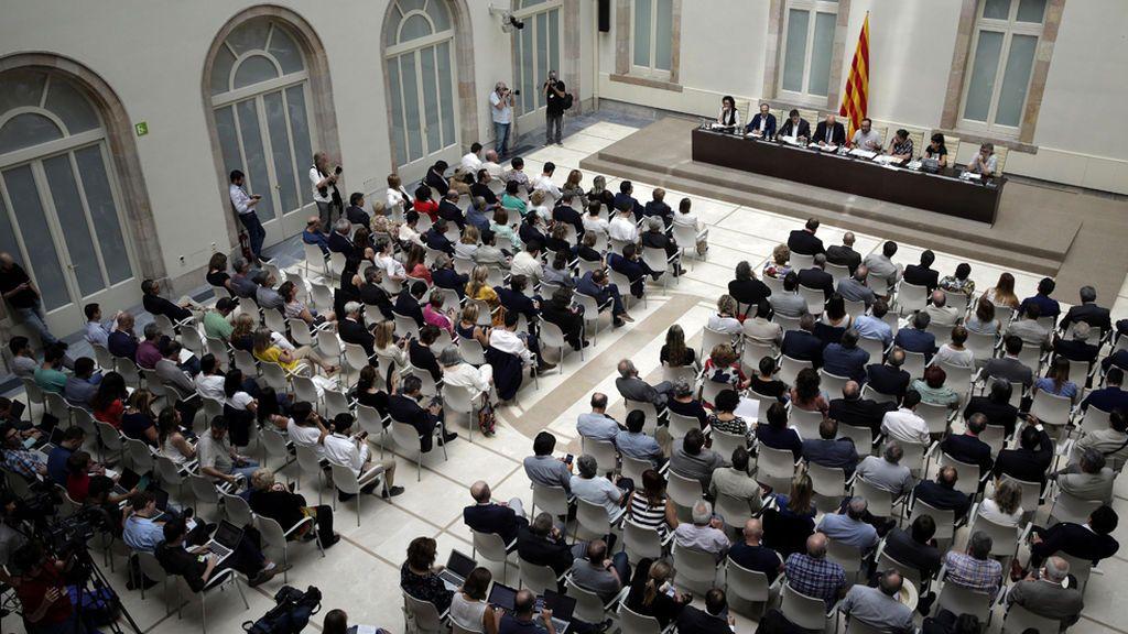 """El Parlament proclamará la independencia catalana """"inmediatamente"""" si gana el 'sí'"""