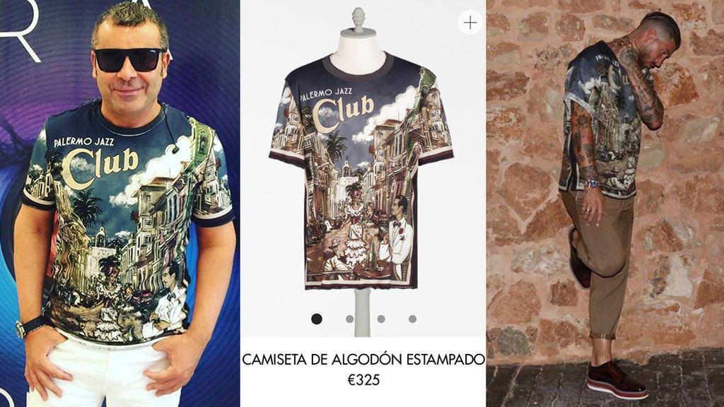 ¡Sabemos de dónde es la camiseta con la que Jorge Javier y Sergio Ramos han coincidido!