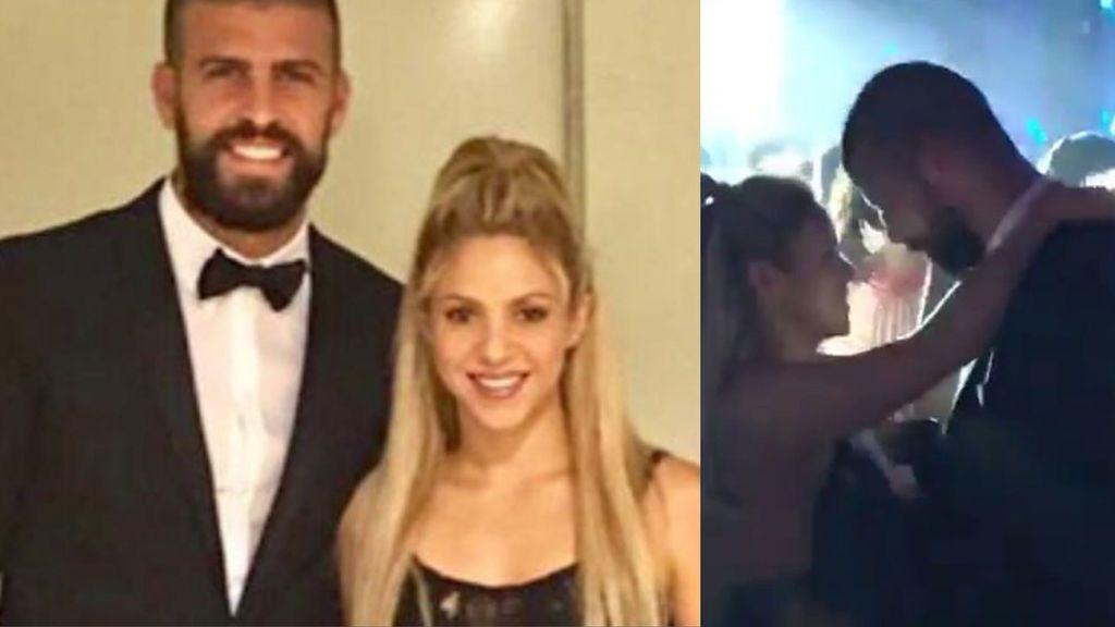 ¡Noche, discoteca y sube la temperatura! El sensual baile de Piqué y Shakira en la boda de Messi