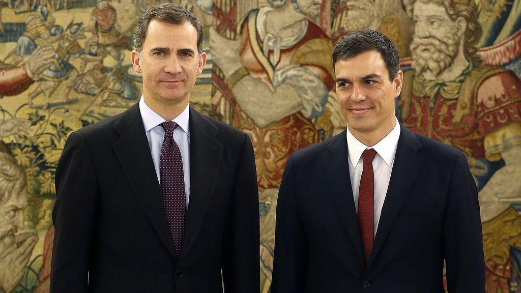 Pedro Sánchez será recibido hoy por el Rey
