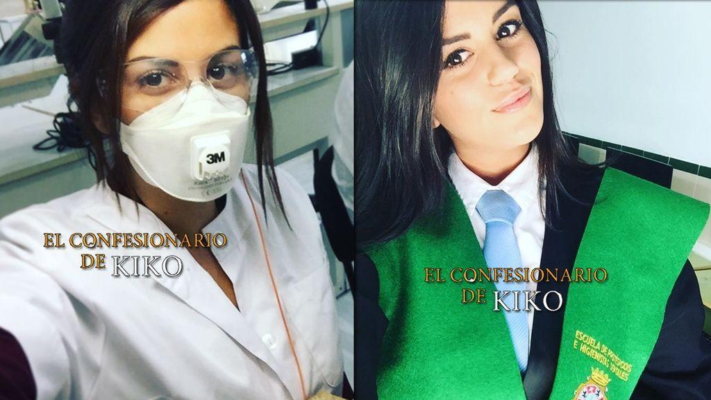 Lola Ortiz, de tronista de 'MyHyV' a graduada como protésico dental