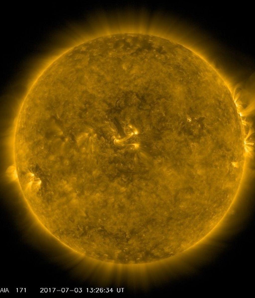 El Sol, NASA