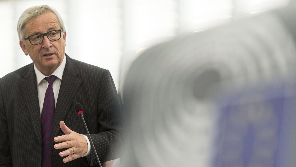 """Juncker, molesto ante un pleno casi vacío: """"El Parlamento europeo es muy ridículo"""""""