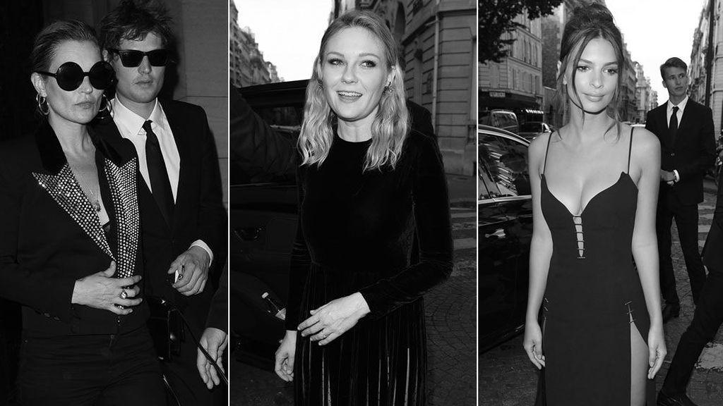 Kate Moss, Kirsten Dunst, Karlie Kloss... En la fiesta de Vogue París triunfa el 'noir'