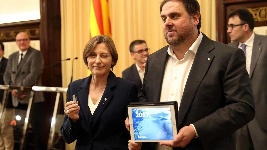 El Constitucional anula las partidas para el referéndum del presupuesto de la Generalitat