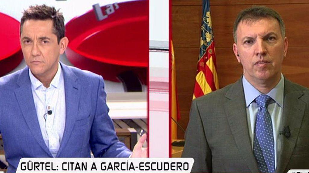 """J.Bosch, de la declaración García-Escudero: """"Está obligado a decir verdad"""""""