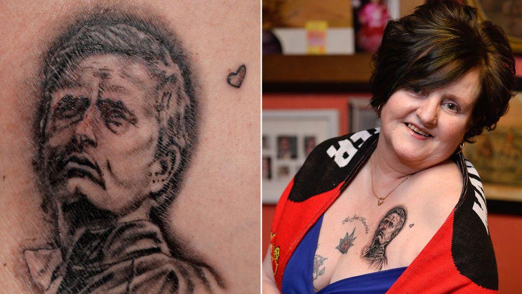 ¡Una mujer se tatúa hasta 20 veces a Mourinho en todo su cuerpo!