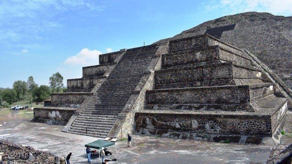 Expertos mexicanos descubren representación del inframundo en Teotihuacan