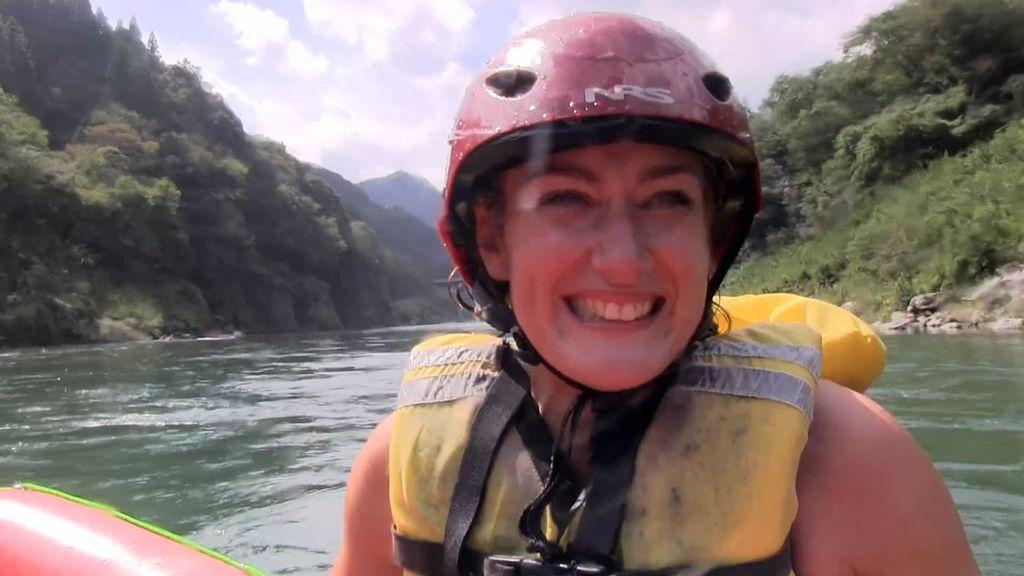 """Mireia le pierde el miedo al rafting gracias a Calleja: """"Era la primera vez que hacía algo así, de aventura"""""""
