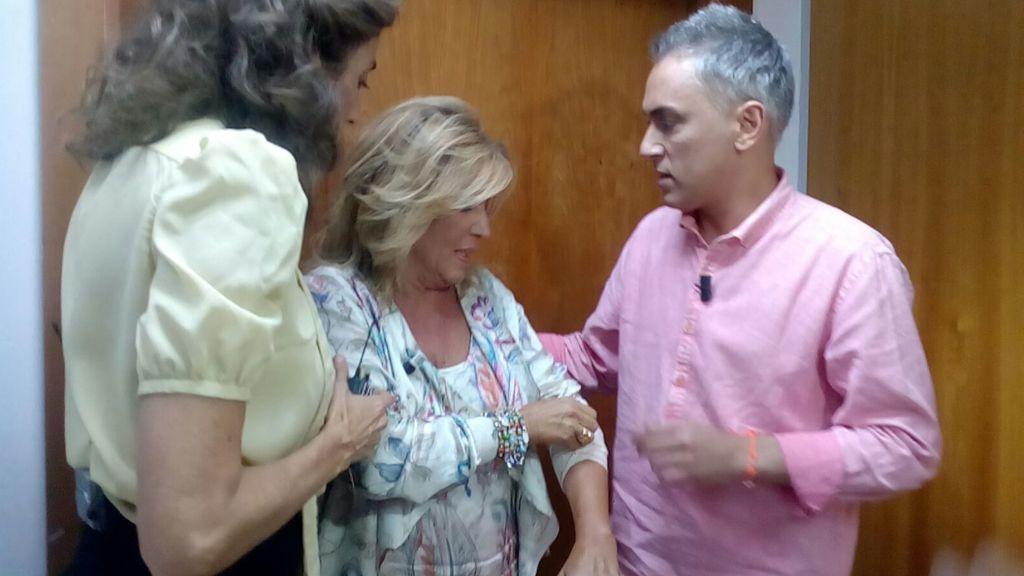 ¡Infiltrados! Esperamos a Lydia Lozano a la salida de la enfermería tras su tremenda caída