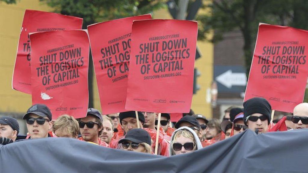Protestas contra la celebración de la cumbre del G20
