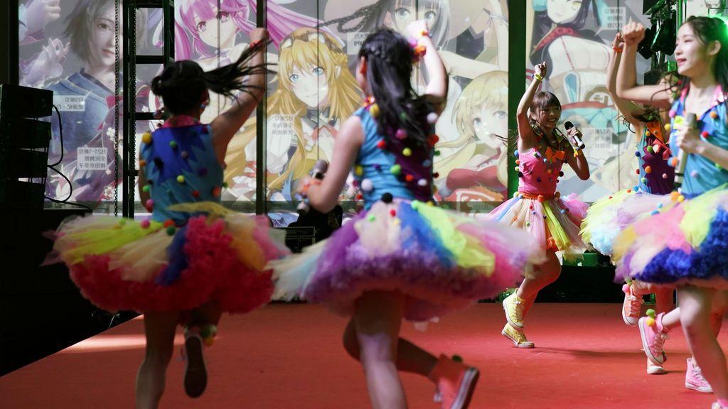 Exposición Internacional de Cómics y Videojuegos en China
