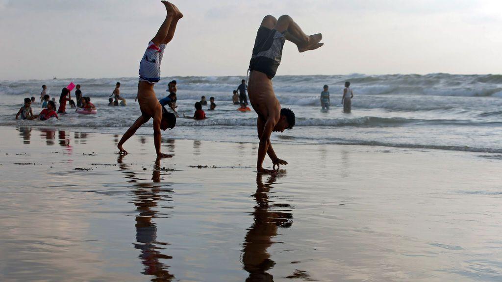 Playa de la ciudad de Gaza