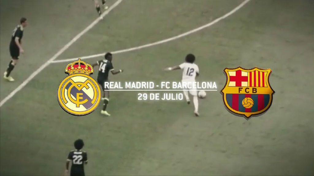 El primer Clásico antes de la Supercopa de España podrás verlo en Mediaset