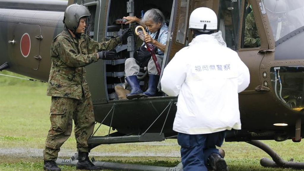 Asciende a 6 el número de fallecidos por las lluvias torrenciales en Japón