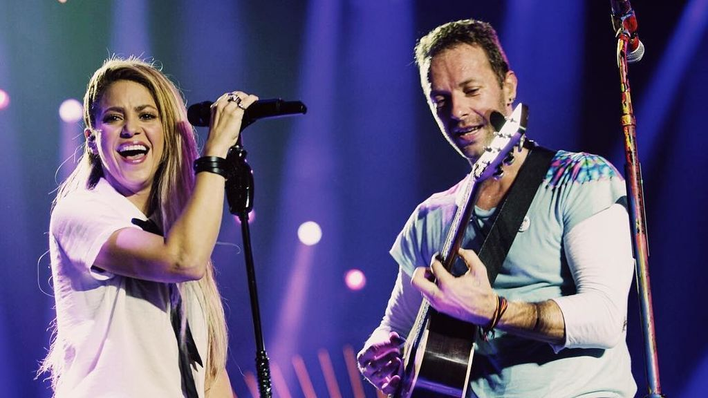 Chris Martin y Shakira conquistan el Global Citizen cantando en español