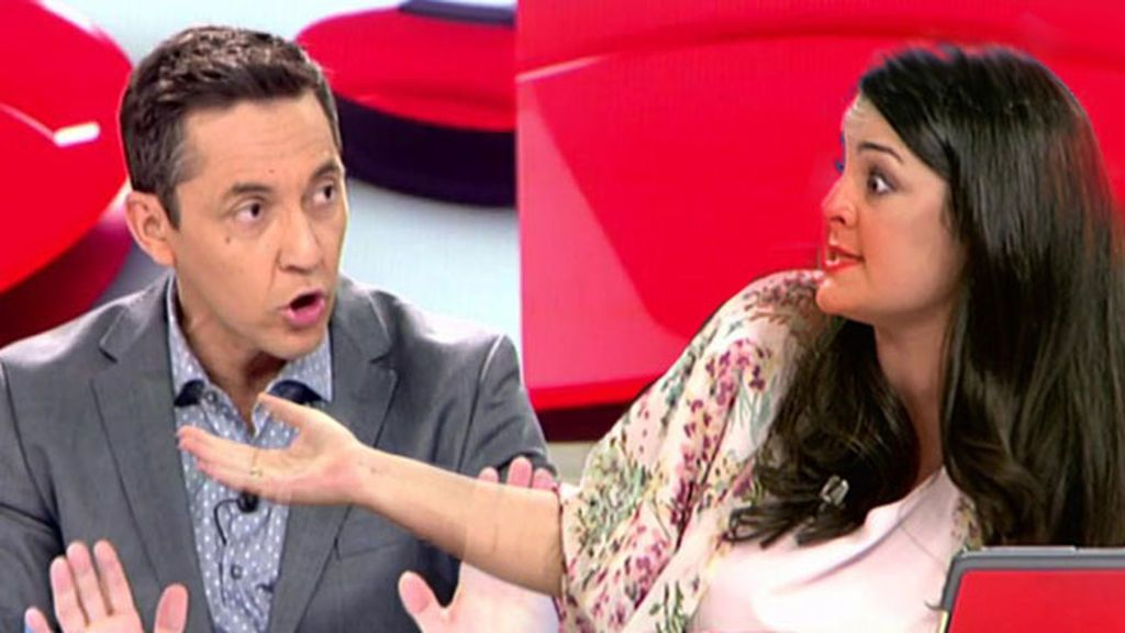"""El cabreo de Javier Ruiz con los tertulianos: """"Esta emboscada no se la hacéis a los del PP"""""""