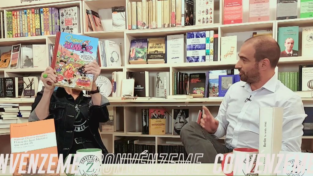 ¡Sorpresa! Juan Román, por recomendación de su hijo pequeño, nos cuenta la historia de los superpoderes