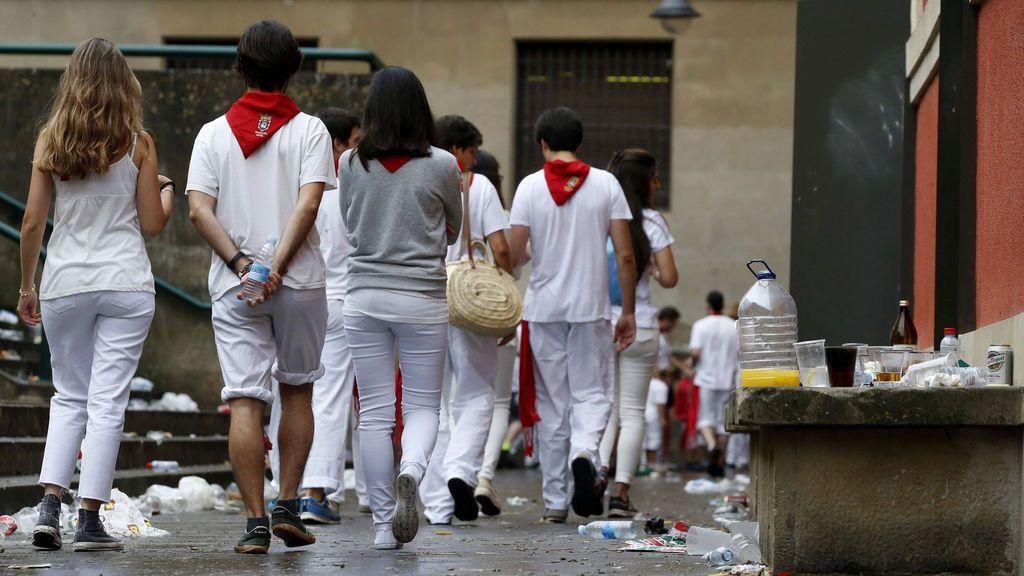 Una denuncia por tocamientos sexuales en el segundo día de Sanfermines