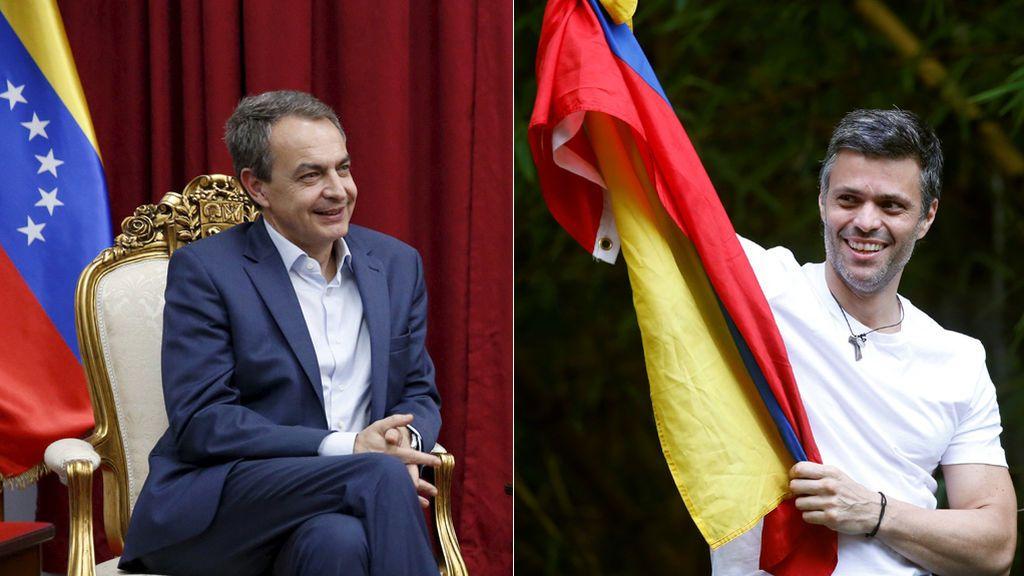 """Zapatero destaca que la excarcelación de Leopoldo López es """"un paso muy positivo"""""""