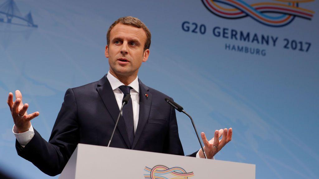 Macron anuncia una nueva cumbre medioambiental el 12 de diciembre en París