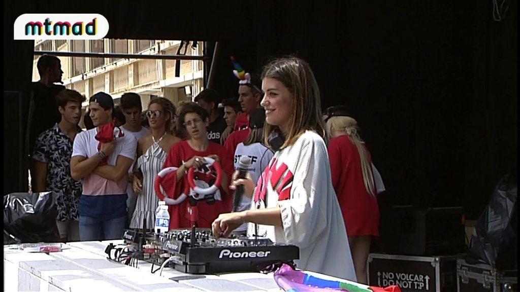 ¡Emoción pura! Dulceida  triunfa en su DJ set junto a Alba Paul, María Pombo, Alex Domenech...