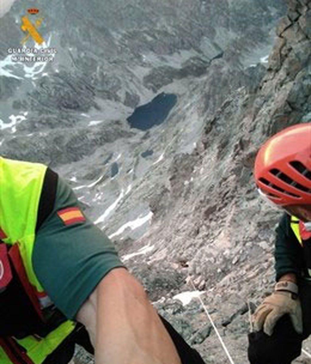 Herida grave una montañera al caer de una altura de 120 metros en  Huesca