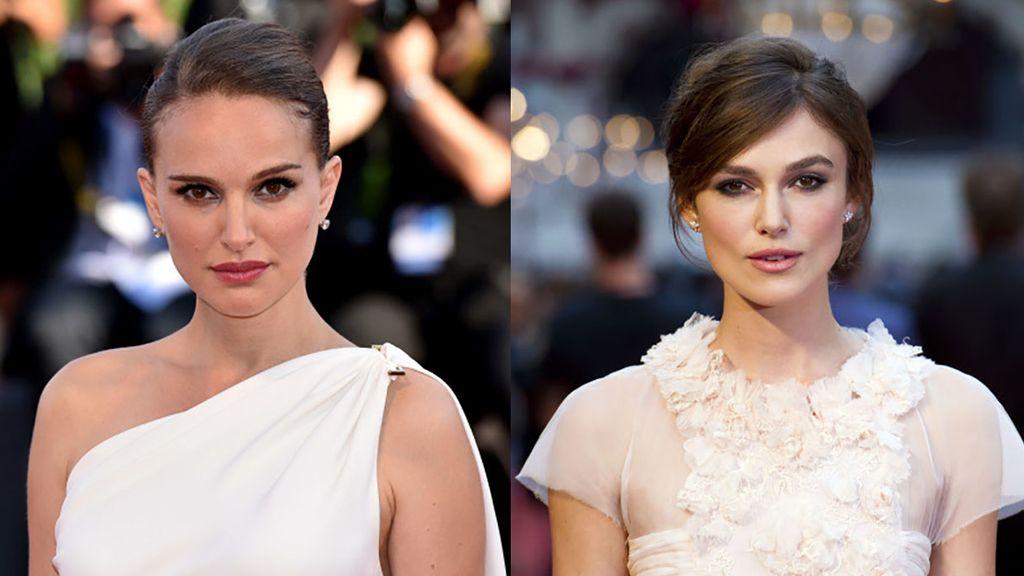 Famosos separados al nacer: Natalie Portman y Keira Knightley