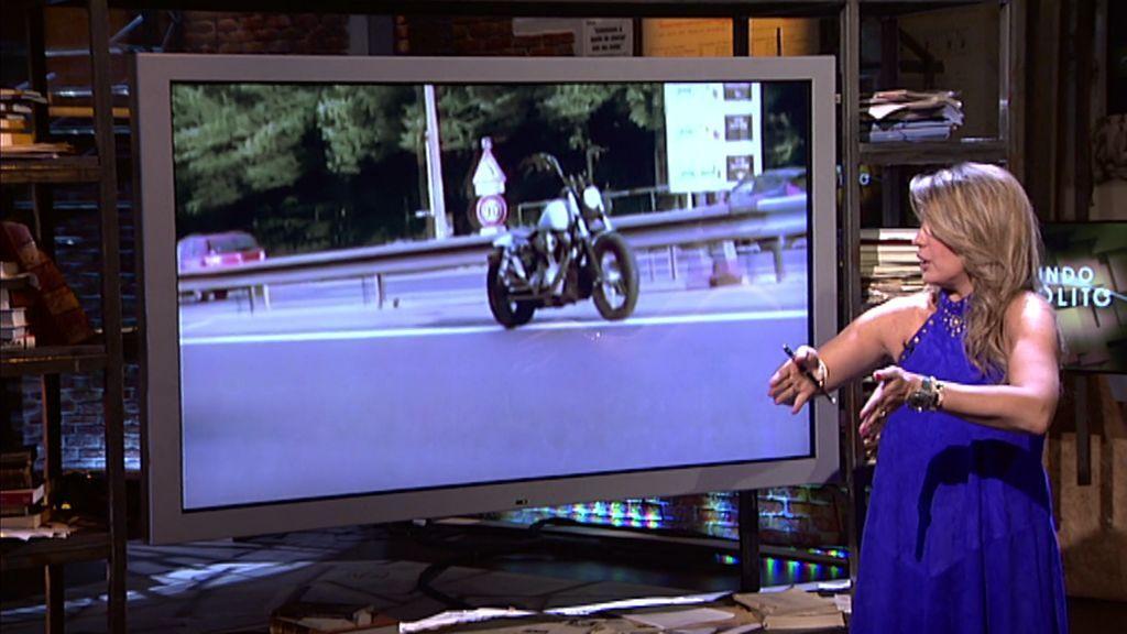 ¡La moto fantasma recorre las calles francesas!