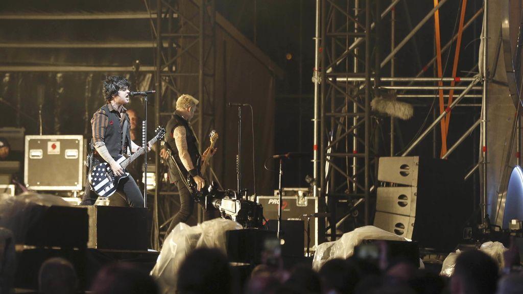 Green Day en su actuación en el Mad Cool de Madrid