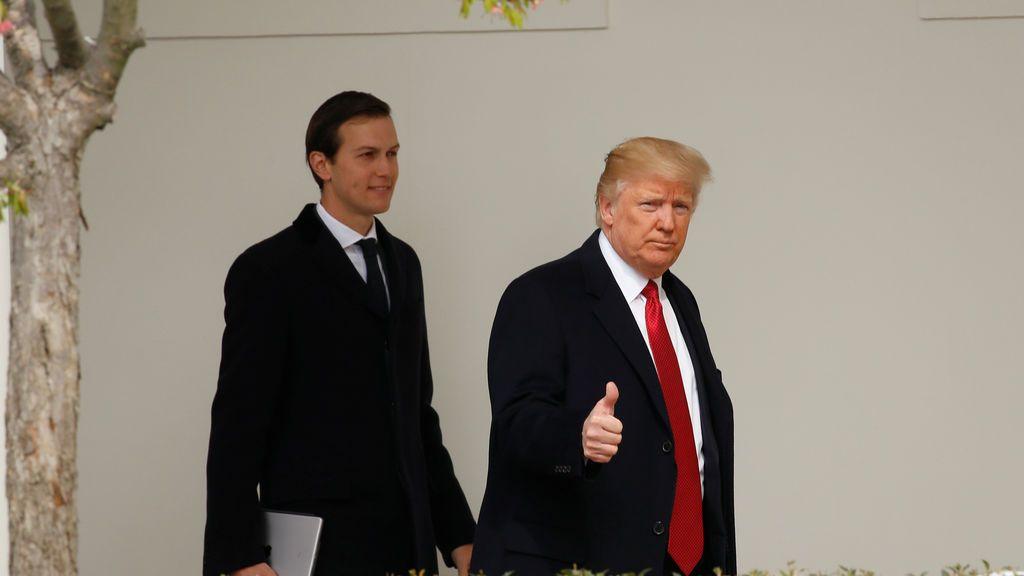 Trump y Jared Kushner